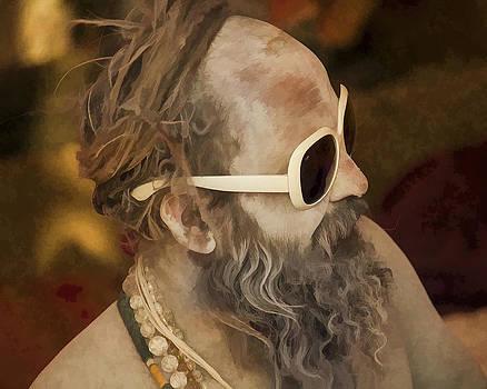 Naga Sadhu Lookin' Cool by Diane Geddes