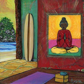 Namaste by Adelita Pandini