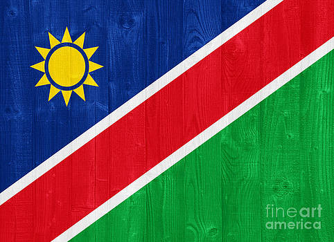 Namibia flag by Luis Alvarenga