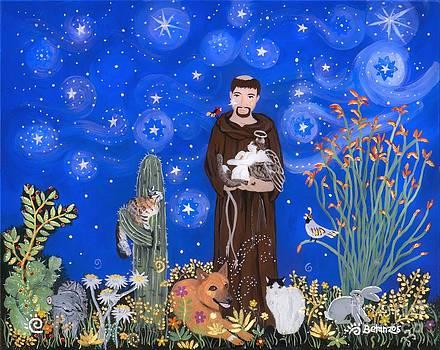 Nancy's St. Francis by Sue Betanzos
