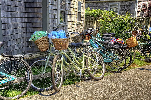 Nantucket Bikes by Donna Doherty