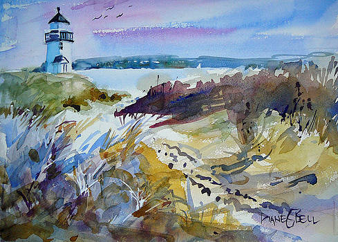 Nantucket Lighthouse by Diane Bell