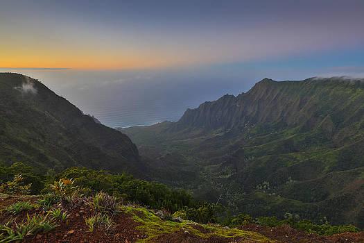 Napali Coastline Kauai by Sam Amato