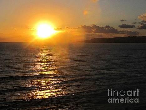Naples Sunset by Dawna Raven Sky