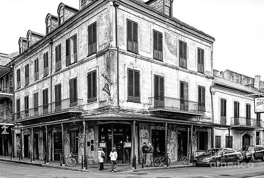 Kathleen K Parker - Napoleon House in New Orleans-BW