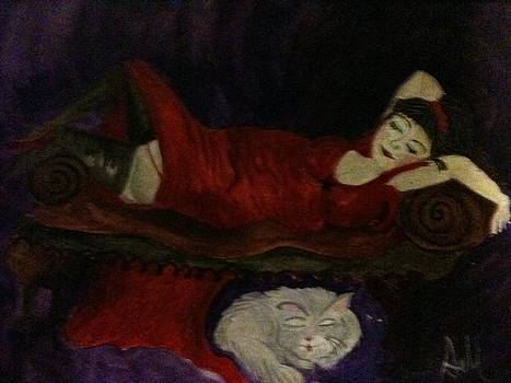 Napping by  Lady  Ann