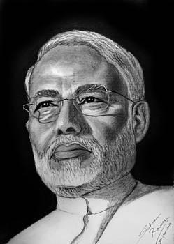 Narendra Modi by Salman Ravish