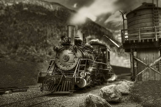 Narrow Gage Steam by Stephen EIS