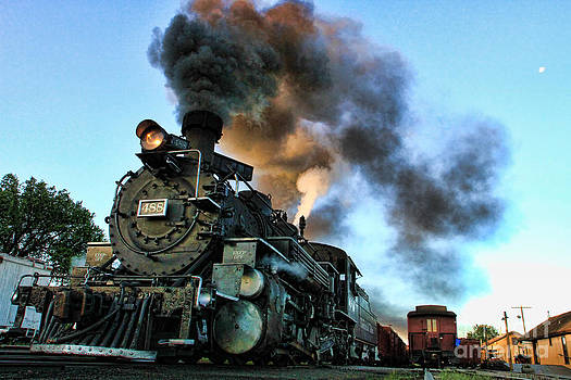 Narrow Gauge Steamer by Edward R Wisell