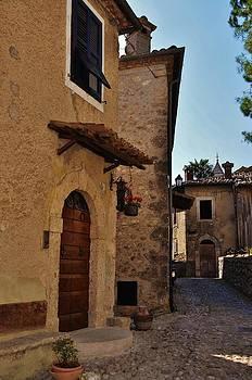 Narrow street in Italian Village by Dany Lison