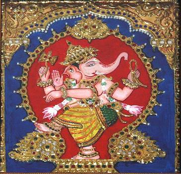 Narthana Ganapathi by Jayashree