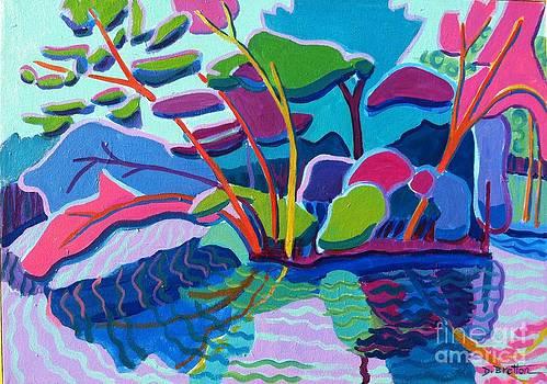Forest Magenta by Debra Bretton Robinson