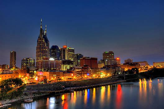 Nashville Lit Up by Zachary Cox
