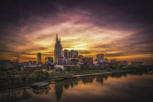 Nashville Sunset by Yasar Ugurlu