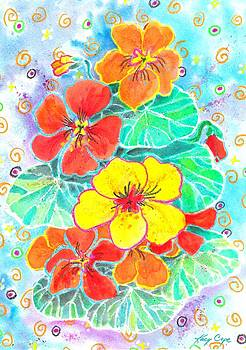 Nasturtiums by Kacy Cope