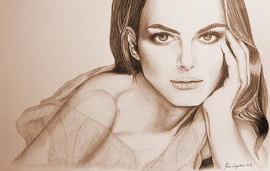 Natalie Portman by Kim Lagerhem