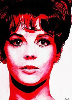 Natalie Wood by Bonnie Cushman