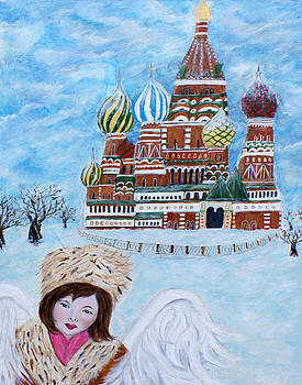 Natasha An Earth Angel From Russia by The Art With A Heart By Charlotte Phillips