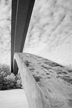 Natchez Trace Bridge X by David Morel