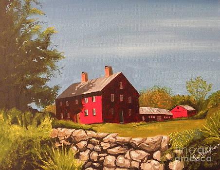 Nathan Hale home by Robert Arsenault