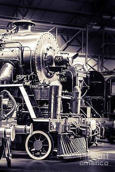 Peter Noyce - Steam locomotive in Museum