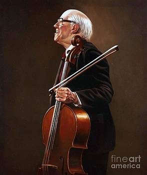 National Symphony Orchestra Director - Rostropovich by Paul Collins