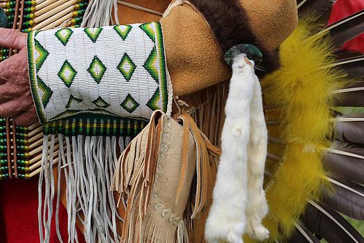 Venetia Featherstone-Witty - Native American Dress Detail