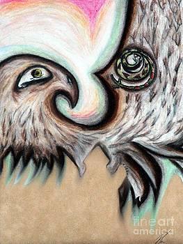 Ayasha Loya - Native American Eye of the Eagle 1