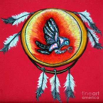 Ayasha Loya - Native American Owl Symbol 1