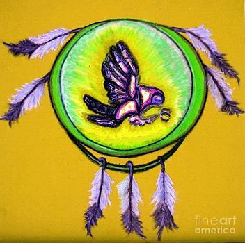 Ayasha Loya - Native American Owl Symbol 4