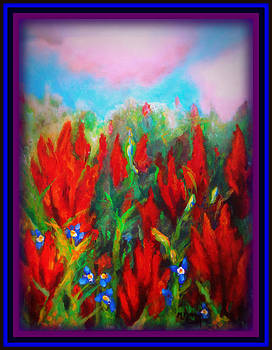 Native-American Paintbrush by MarvL Roussan