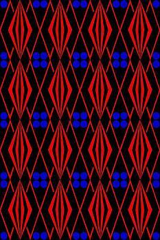 Native American Tile 1 by Joanna Randolph