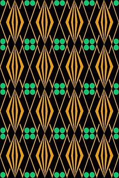Native American Tile 2 by Joanna Randolph