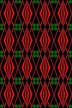Native American Tile 3 by Joanna Randolph