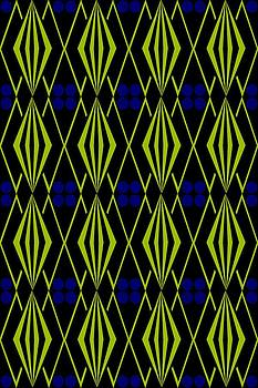 Native American Tile 4 by Joanna Randolph