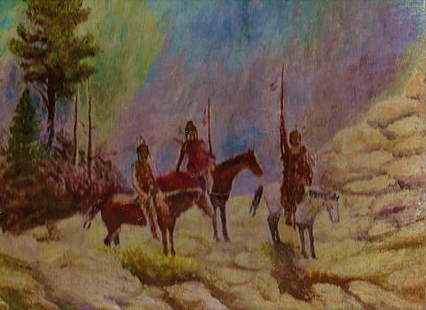 Anne-Elizabeth Whiteway - Native Americans and Horses