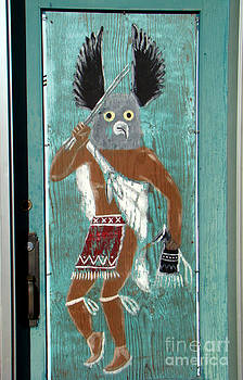 Native Painting in Panguich by Eva Kato
