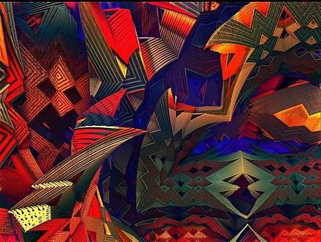 Native rug by Paul Deforrest