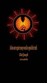 Native Truth - Chief Joseph by Lea Wiggins