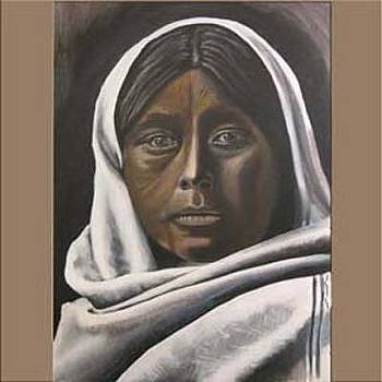 Native Woman by Creations by DuBois