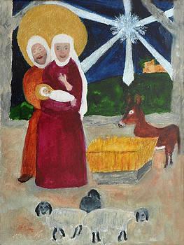Nativity by Mickey Krause for Phyllis Brady