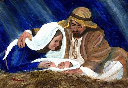 Nativity portrait by Gianluca Cremonesi