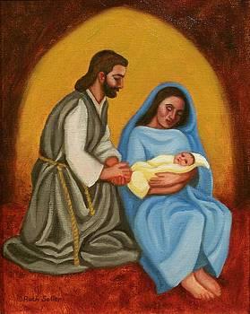 Ruth Soller - Nativity Scene