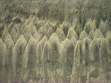 Joyce Dickens - Natural Abstract In The Sand Three