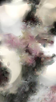 Natural Abstractions #7 Dragonflies in Plumb Blossoms by Nola Lee Kelsey