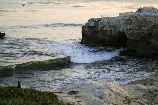 Natural Bridges Beach by Kate Johnson