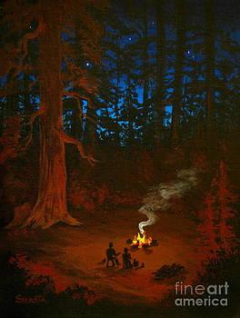 Shasta Eone - NATURE  EMBRACE - fine art impressionist serenity landscape