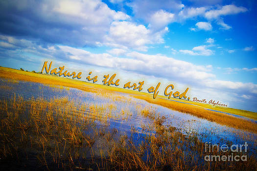Nature is the art of God by Kelly Efstathiou