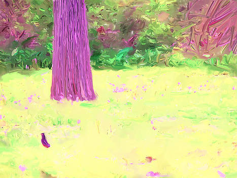 Nature painting / digital art by Magdalena George