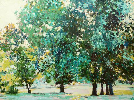 Nature's First Green by Azhir Fine Art